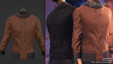 (AMD) Leather Jackets - Classic Brown (wear to unpack)