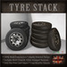 TIRE STACK (Old Tyres)