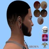 .:CDC Hair Base Brown Star *Omega/ Catwa*