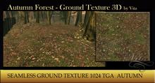Vita's Texture - Autumn Forest Leaves 1024 3D 2016 SEAMLESS