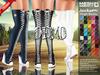 ::MA:: JACKSON Wedge Thigh Boot Sneakers Belleza, Slink, Maitreya & Regular - DEMO