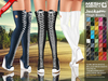 ::MA:: JACKSON Wedge Thigh Boot Sneakers - 50 Colors PACK