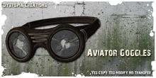 .dystopia. aviator goggles