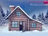 %50SUMMERSALE Full Perm MI Stylized Winter Cottage