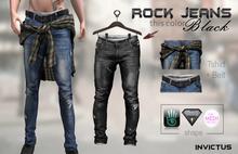 INVICTUS - Rock Jeans  Black
