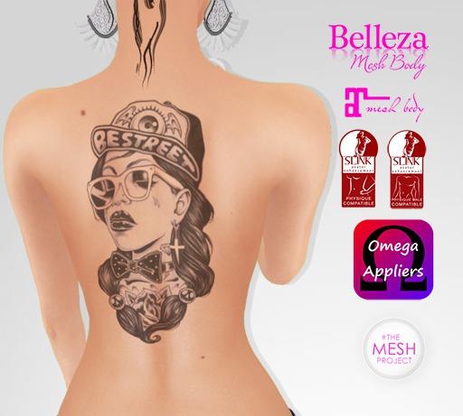 TSB ::: Tattoo woman bestreet
