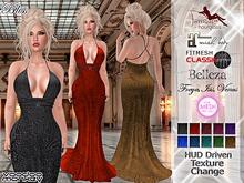 Bliss - Long Mesh Formal Evening Gown ::VoodooMonkey::