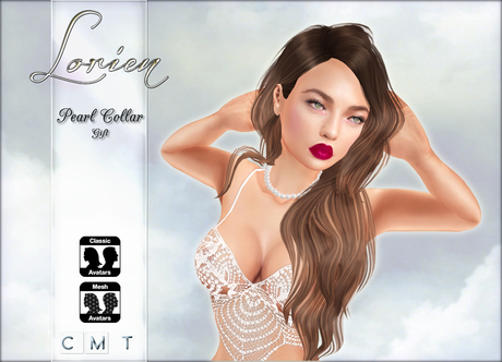 LORIEN PEARL NECKLACE 1 LINDEN!!!