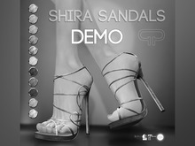 DEMO - Pure Poison - Shira Sandals - Ad-ons for Ad - ons for Belleza, Maitreya, SLINK High Feet The Mesh Project Ouch
