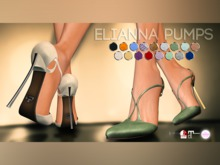 Pure Poison - Elianna Pump - Ad-ons for Ad - ons for Belleza, Maitreya, SLINK High Feet The Mesh Project Ouch