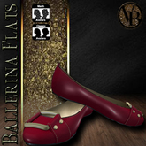 .::VB::.Ballerina Flats Red
