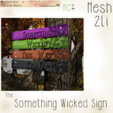 ~ASW~ The Something Wicked Sign
