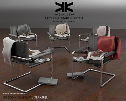 Atrezzo :: Chair & Outfit :: {kokoia} :: 5 Colors