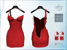 *agp* Nora dress / red