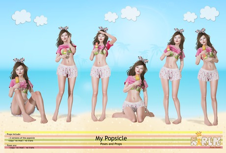 Kirin- My Popsicle Poses and Props
