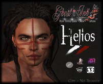 Face Tattoo :: Helios ::