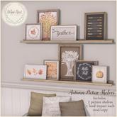 {what next} 'Autumn' Picture Shelves