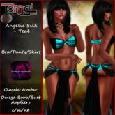 Angelic Silk - Teal