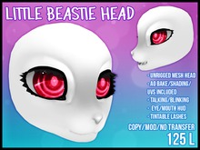 [M.O.R]: LITTLE BEASTIE HEAD
