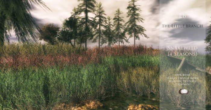 LB Snakeweed 4 Seasons Mesh Grass