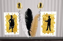 Jazz Flapper Roaring 20s party decorations