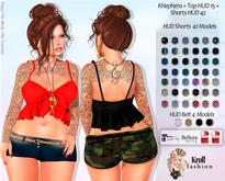 ::KF - Khephera Top HUD 15 Models + Shorts HUD 42 Models ::