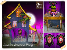 Haunted Mansion Party ♥ NEW Chez Moi