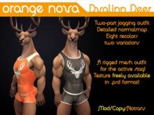 Orange Nova Dvalinn Gym Gear