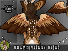 [TJR] WOLPERTINGER WINGS [LATTE]