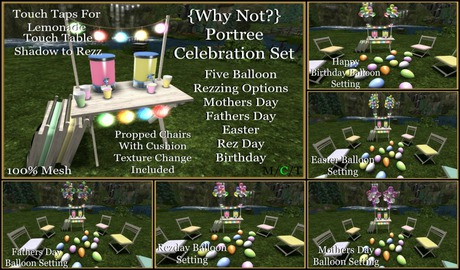 {Why Not?}Portree Celebration Set-Boxed