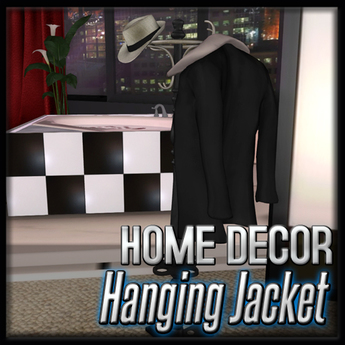 Akaesha's Hanging Jacket  (Empire Suite Decor)