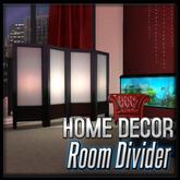 Akaesha's Empire Room Divider  (Empire Suite Decor)