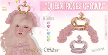 * {.:Little Stars.:} * Queen Roses Crown - Pink