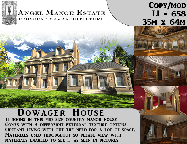 Dowager House (Sand Stone)