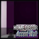 Purple Accent Wall (Penthouse Arelia Decor)