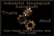 Industrial Steampunk  Danceball by ~20/ten Concepts*