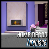Akaesha's Fireplace (Modern White)  (Penthouse Arelia Decor)