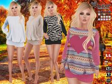 Sweet Temptations :: Lanna Dress (Maitreya, Physique, Hourglass, Venus, Isis, Freya, Classic) @ 20 Textures