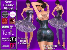 [TKS] Complete Outfit - New Gentle Ghost for Belleza, Eve, Slink, Maitreya, TheMeshProject and Tonic Bodies