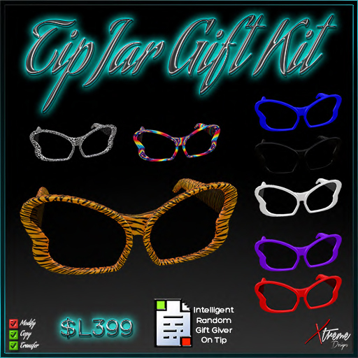 TipJar Gift Kit - SunGlasses -