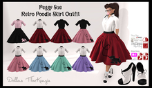 .::DM::. Peggy Sue Retro Poodle Skirt Outfit - FATPACK