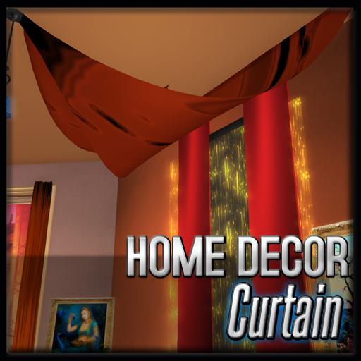 Ceiling Curtains (Sunset Mumbai Decor)