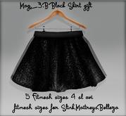 Mag<3.B gift Black skirt