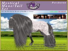 *E* RealHorse Mystical Mane & Tail Set [BOXED] RH Percheron