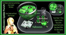 Halloween Spider Punch Bowl