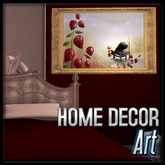 Art - Blooming Music (Gold) (Creme De Amore Decor)