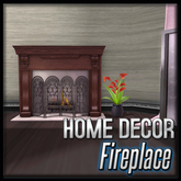 Akaesha's Fireplace Classic Wood