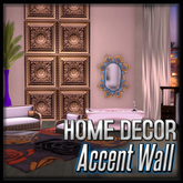 Zephyr Accent Wall ( Zephyr Gold Decor)