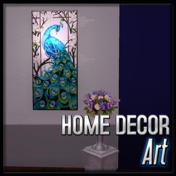 Art - Peacock (Mystic Pearl Decor)