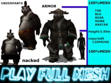**Big Bear Monk Avatar**PlayFullMeshmp